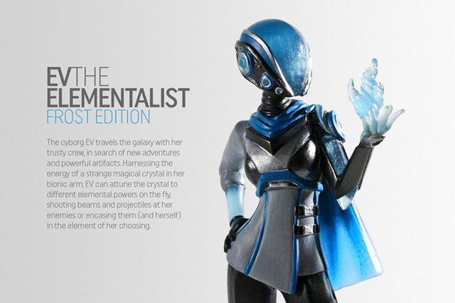 EV the Elementalist: Frost & Flame Edition